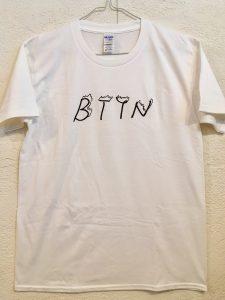 BTYNTシャツ(白)